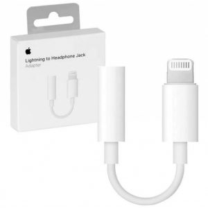Adaptador Apple Lighting – Audio Jack